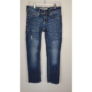 BKE Addison Jeans Slightly Distressed 27